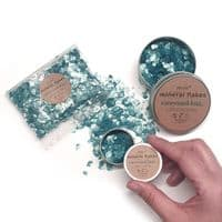 Mineral Mica Flakes - Turquoise Sea